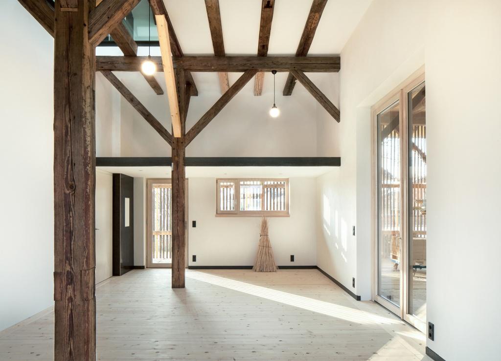 wohnen und arbeiten in der torfremise bauen im. Black Bedroom Furniture Sets. Home Design Ideas